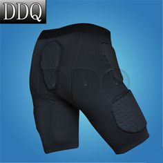 High Quality Pro cellular basketball bumper protective short sports shorts armor shorts tights shorts Free Shipping