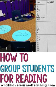 Grouping students fo