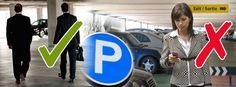 Don't Park Your Safety at the Lot - Tips to Keep You Safe Going To and From the Parking Lot Verbal Abuse, Parcs, Parking Lot, Health And Safety, Bullying, Workplace, Physics, Behavior, Tips