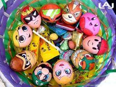 Eier Gesichter malen ostereier gestalten eier mit gesichter malen osterdeko selber machen supermario