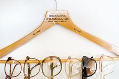 Great eyeglass storage idea!