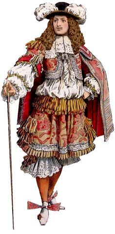 clothing of louis xiv - Google Search
