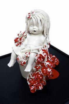 Spencershotchner Maria Rubinke Maria Rubinke Via High Fructose - Amazingly disturbing porcelain figurines by maria rubinke