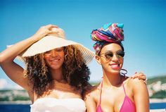 I've been trying not to fall in love with Bey and Solange, but I can't help it. I wish I had a sister...from Beyoncé | I Am