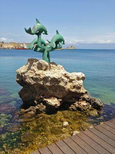 Rhodos, harbour, Palia Poli (old town)