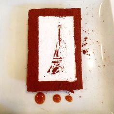 Sobremesa Mil Folhas, no L'entrecôte de Paris.
