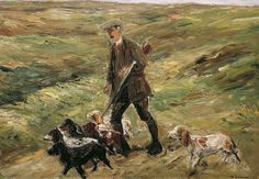 Max Liebermann - Hunter in the Dunes (1913)