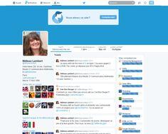 Le CV Twitter de Mélissa Lambert