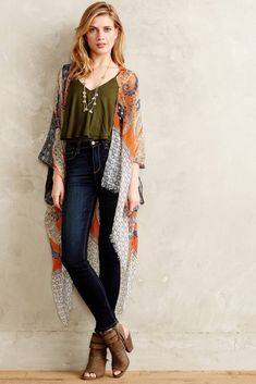 Die 50 Besten Boho Arbeit Outfit Ideen The 50 Best Boho Work Outfit Ideas - Boho Work Outfit Ideas # How To Wear High Waisted Jeans, High Waist Jeans, Look Boho, Look Chic, Boho Work Outfit, Look Kimono, Kimono Style, Kimono Top, Boho Chique