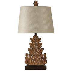 "Found it at Joss & Main - Leaf Motif 31.5"" Table Lamp"