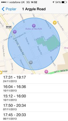 iphone hidden location tracking
