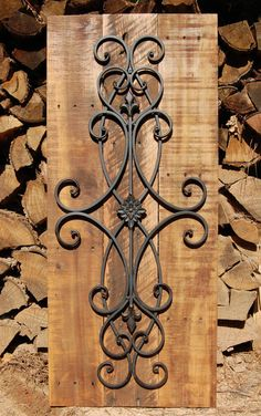 Decorative Rustic Wall Art by LooneyBinTradingCo on Etsy
