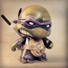 I want toycutter: Teenage Mutant Ninja Turtle Munny