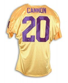 Billy Cannon Autographed Jersey with
