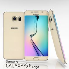 Samsung Galaxy S6 Edge 3D Obj - 3D Model