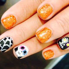 More Halloween nails