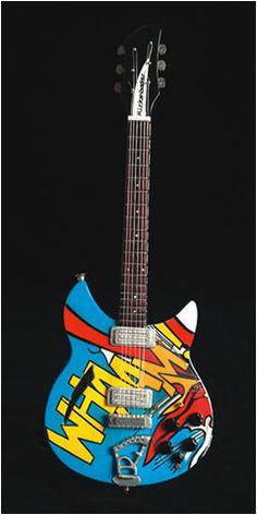 Paul Weller's comic-inspired Rickenbacker.