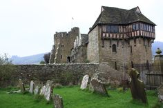 Stokesay Castle, built in the late 13th century, is a fortified manor house in Stokesay, Shropshire.      It was built in late 13th century.