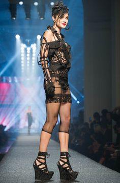 Jean Paul Gaultier en el quinto día de la Paris Fashion Week |