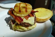 Easy and Delicious Pineapple Bacon Burgers #Recipe