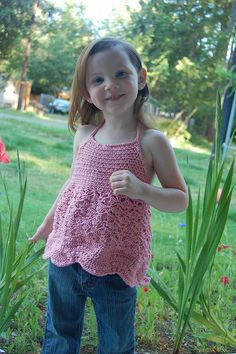 Thursday Handmade Love Week 58 Theme: Children's tops Includes links to #free #crochet patterns