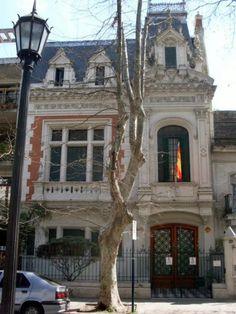 Arquitecto Juan B. Durand / Prov. de Santa Fe / Rosario / Av. Nicasio Oroño 1020 / Casa Daumas, actual Residencia del Cónsul de España