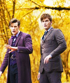 New 'The Day of the Doctor' still. Seeing the two of them. Together. I can't.