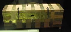 """Vikings"" Exhibit at Field Museum, Chicago, Illinois, Field Museum, Chicago Illinois, Exhibit, Missouri, Indiana, Vikings, Storage Chest, Box, The Vikings"