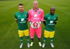 Norwich City away kit. Picture: NCFC