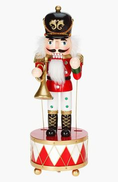 Mark Roberts Musical Nutcracker Figurine