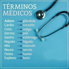 Medicine Notes, Medicine Student, Medical Students, Nursing Students, Carrera, Medical Terminology, Medical Facts, Med School, Veterinary Medicine