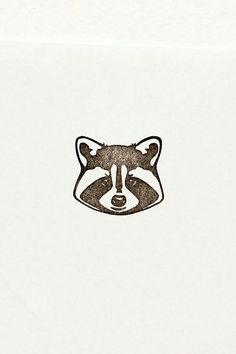 Dudes in Jackets the Raccoon Hand carved stamp by WoodlandTale on Etsy Rocket Raccoon, Raccoon Hands, Racoon, Raccoon Drawing, Raccoon Tattoo, Bff Drawings, Motifs Animal, Cute Stationary, Geniale Tattoos