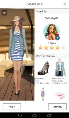 Covet Fashion: Cabana Chic