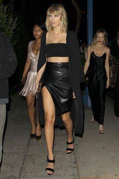 Taylor Swift at Drake's birthday party