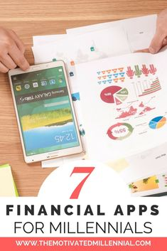 7 Financial Apps for Money Conscious Millennials - The Motivated Millennial Financial Apps, Financial Success, Money Talks, Marketing Professional, Student Loans, Life Advice, Finance Tips, Personal Finance, Saving Money
