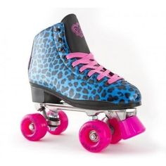 RIO ROLLER Chic Leopard Blue / Blauw - Rollerskates - Recreatie - Rollerskates - Onlineskateshop – skates, rollerskates, longboards, steps, s