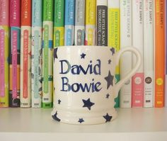 print & pattern: my david bowie mug by emma bridgewater.