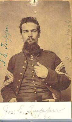 Civil War Major General James B Portrait /& Autograph Card McPherson