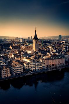 Zürich, Switzerland...didn't stay long, but was VERY memorable!