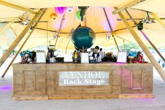 THE BAR // Our Aynhoe Backstage bar at Wilderness Festival 2016 in the Cotswolds - We are looking forward to this year.