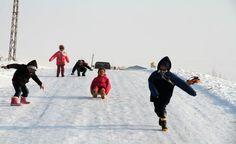 Doğu Anadolu'dan kartpostallık kar manzaraları-Muş