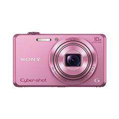 Sony DSC-WX220 Digitalkamera (18 Megapixel, 10-fach opt. Zoom, 6,8 cm (2,7 Zoll) LCD-Display, NFC, WiFi) pink - http://kameras-kaufen.de/sony/pink-sony-dsc-wx220-digitalkamera-18-megapixel-10