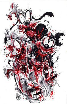#Disney #Zombie Style