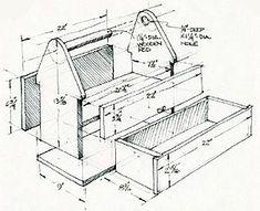 Old school tool box