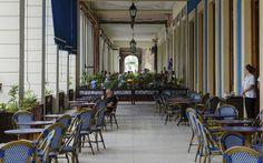 Es el hotel más antiguo de Cuba, y abrió sus puertas al público alrededor de 1860, unos años después de fundada la primera estación de telégrafo en el país, en la que se inspira el nombre del hotel. En 1888 el hotel se movió hacia su actual ubicación y hacia 1914 todas las habitaciones del hotel y el restaurante presumían de teléfonos que brindaban a los huéspedes servicios de llamadas nacionales e internacionales, en una época en que hasta los baños públicos eran una rara y lujosa novedad.