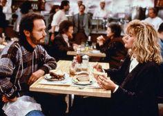 """Billy Cristal y Meg Ryan en """"Cuando Harry encontró a Sally"""", 1989"""
