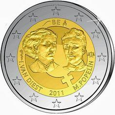 2 euro Belgium 2011, 100th anniversary of International Women's Day