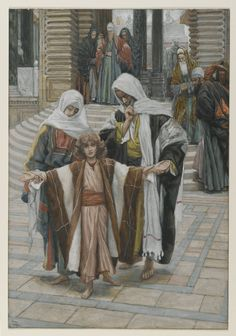 """""""Jesus Found in the Temple"""" by James Tissot"""
