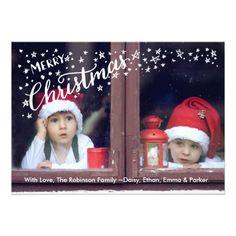 Christmas Dots and Stars Card