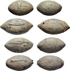 Разновидности камней для пращи